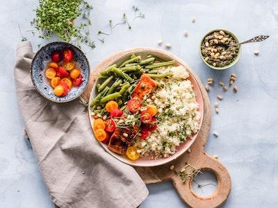 vegetables and healthy food, menopause